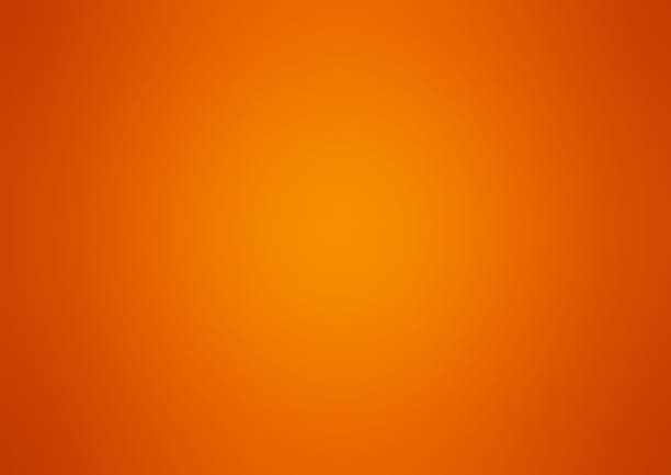 Orange colour background, vector Orange colour background, vector hill stock illustrations