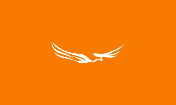 Get Phoenix Bird Logo Vector Gif