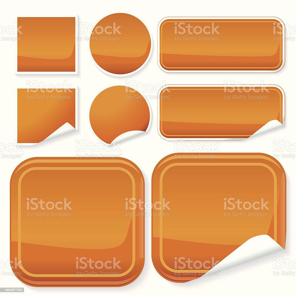 Alumínio Descascador de encosto laranja ilustração de alumínio descascador de encosto laranja e mais banco de imagens de botão - peça de máquina royalty-free