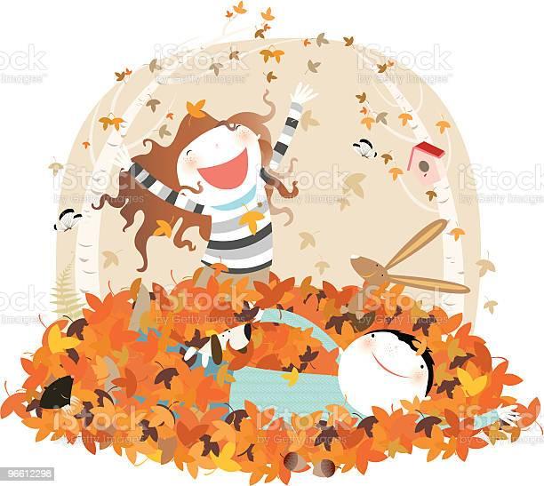 Orange Fun-vektorgrafik och fler bilder på Barn