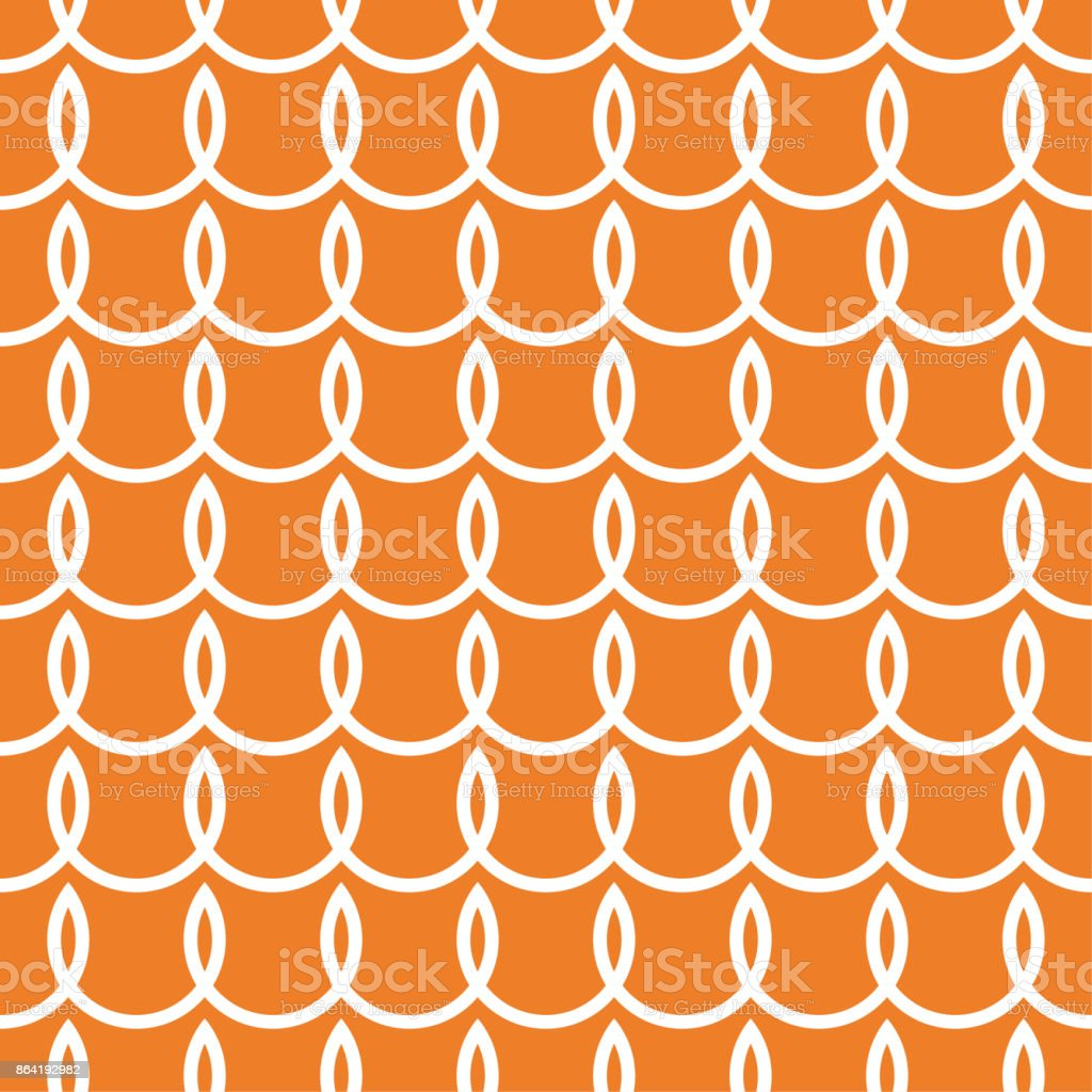 Orange geometric design. Seamless pattern royalty-free orange geometric design seamless pattern stock vector art & more images of abstract