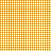 Orange gingham pattern for Festa Junina in Brazil
