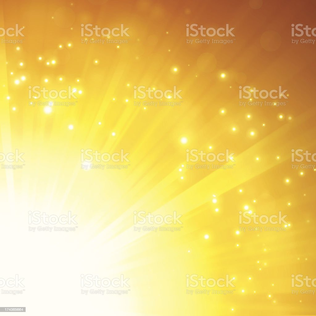 Orange Glow Abstract royalty-free orange glow abstract stock vector art & more images of abstract