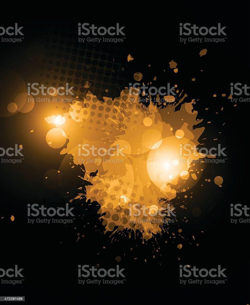 Orange grunge splashes royalty-free orange grunge splashes stock vector art & more images of abstract