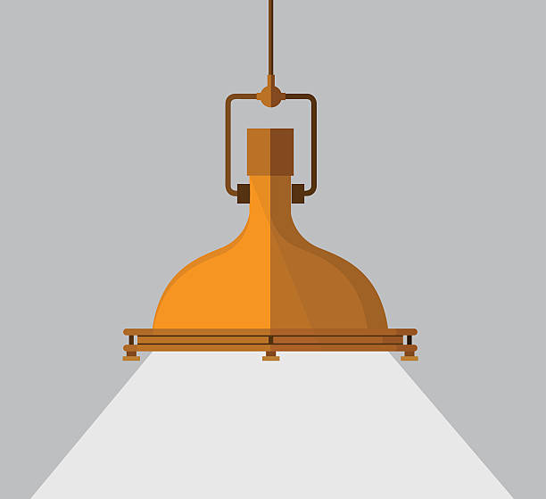 Hanging Lamp Vector: Royalty Free Ceiling Lighting Clip Art, Vector Images