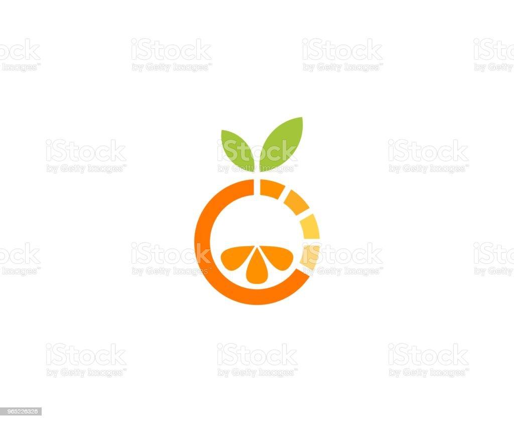 Orange icon royalty-free orange icon stock vector art & more images of circle