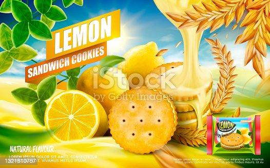 istock orange juice and tasty ice cream realistic design 1321810757