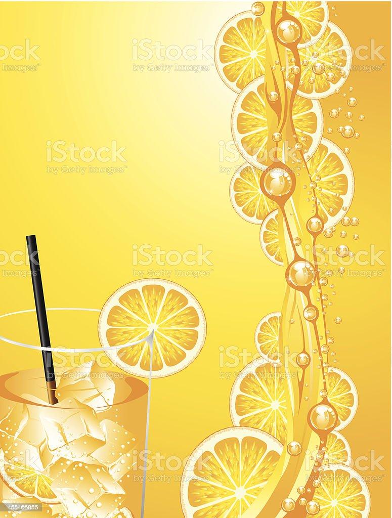Succo d'arancia - illustrazione arte vettoriale