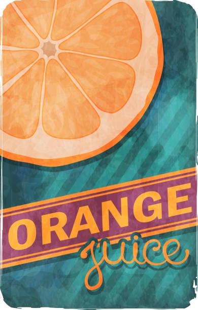 ilustrações, clipart, desenhos animados e ícones de suco de laranja - texturas desgastadas