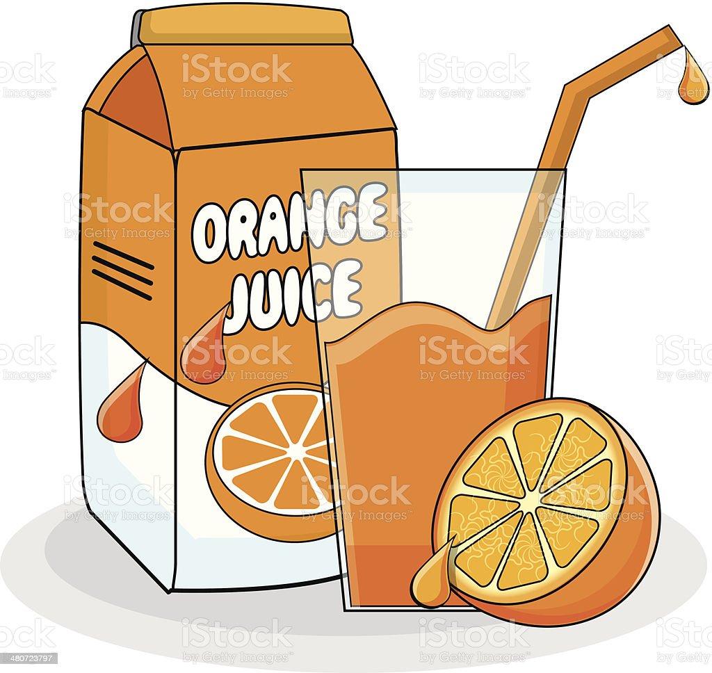 royalty free fruit juice clip art vector images illustrations rh istockphoto com drinking orange juice clipart Orange Juice Carton