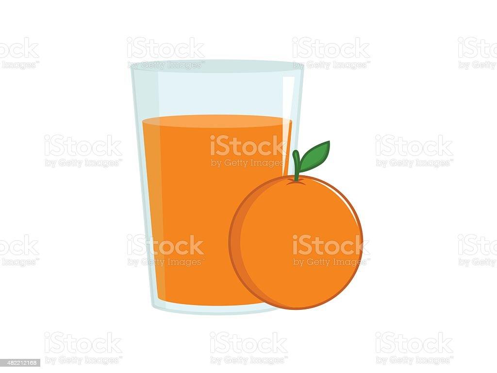 royalty free orange juice glass clip art vector images rh istockphoto com orange juice glass clipart Orange Juice Carton