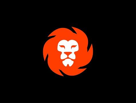 Orange Lion logo