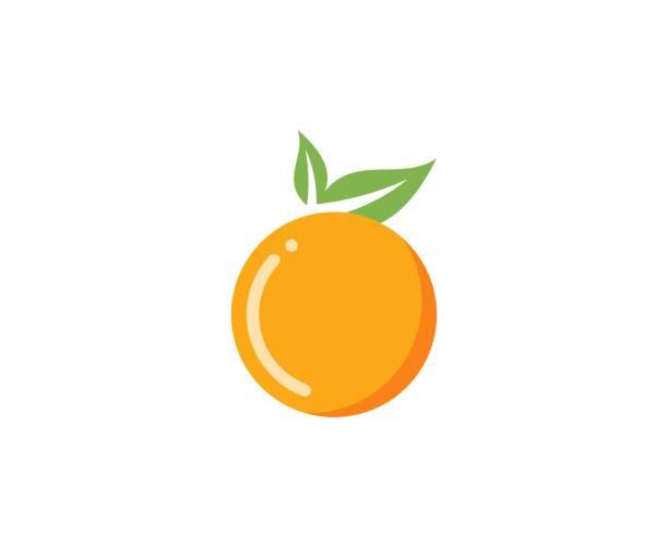 ilustrações de stock, clip art, desenhos animados e ícones de orange logo - orange