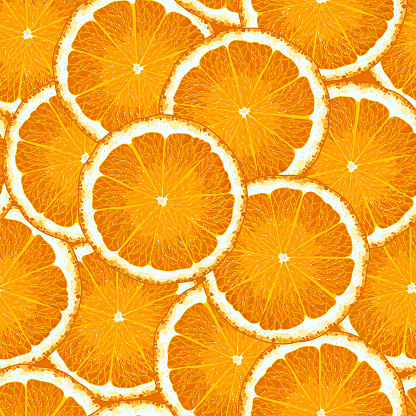 Orange Pattern.