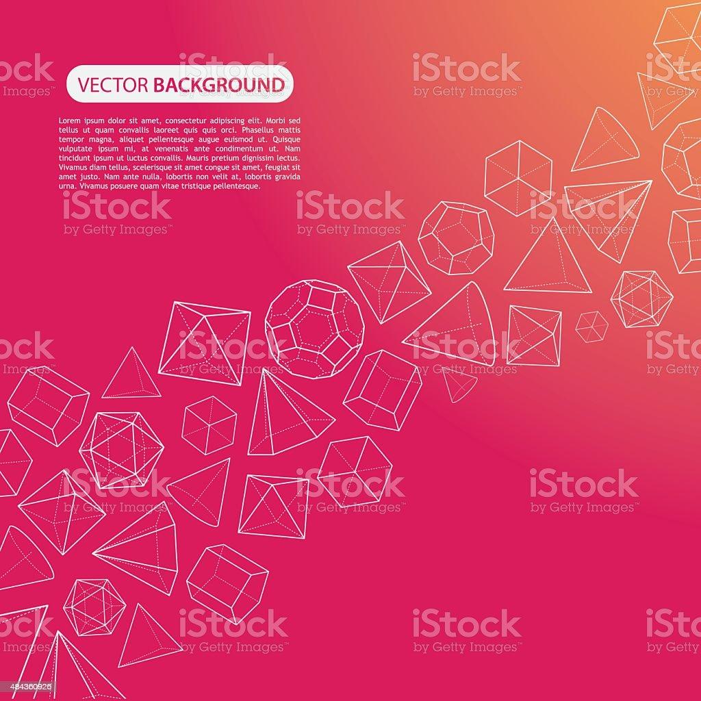 Arancio Ispirato Sfondo Di Flusso Rosa In Tinta Unita Immagini