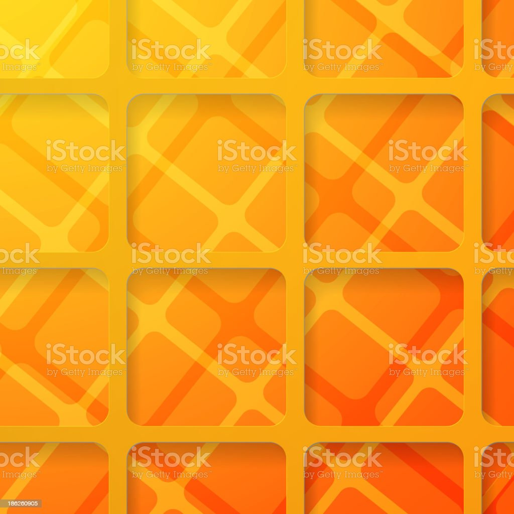 Orange square pattern royalty-free orange square pattern stock vector art & more images of abstract