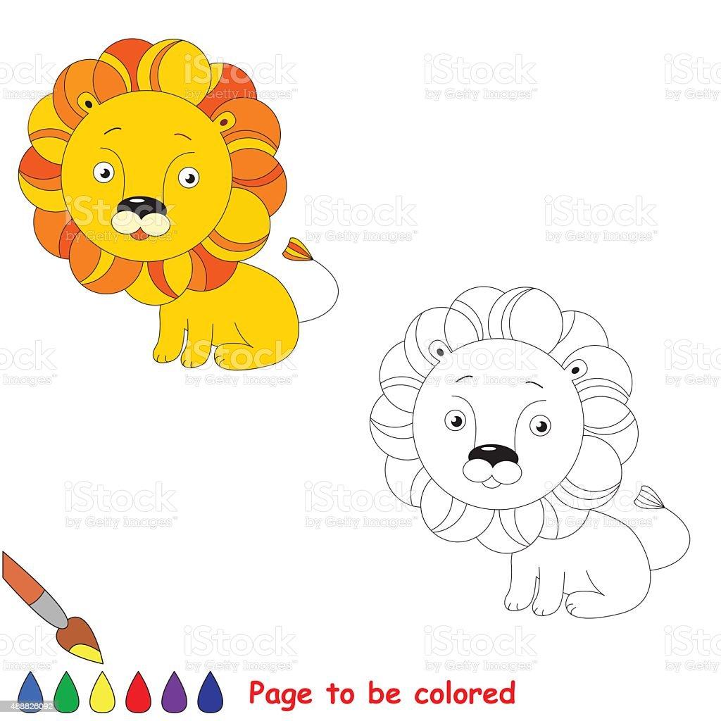 baby löwe zum ausmalen  malvorlagen