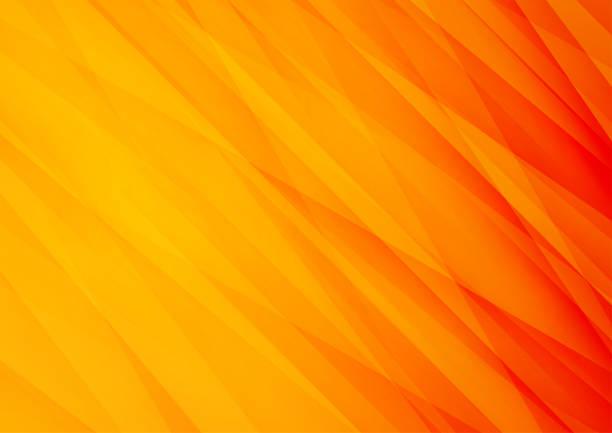 bildbanksillustrationer, clip art samt tecknat material och ikoner med orange vektor bakgrund med ränder, kan användas för omslagsdesign, affisch, reklam - orange bakgrund