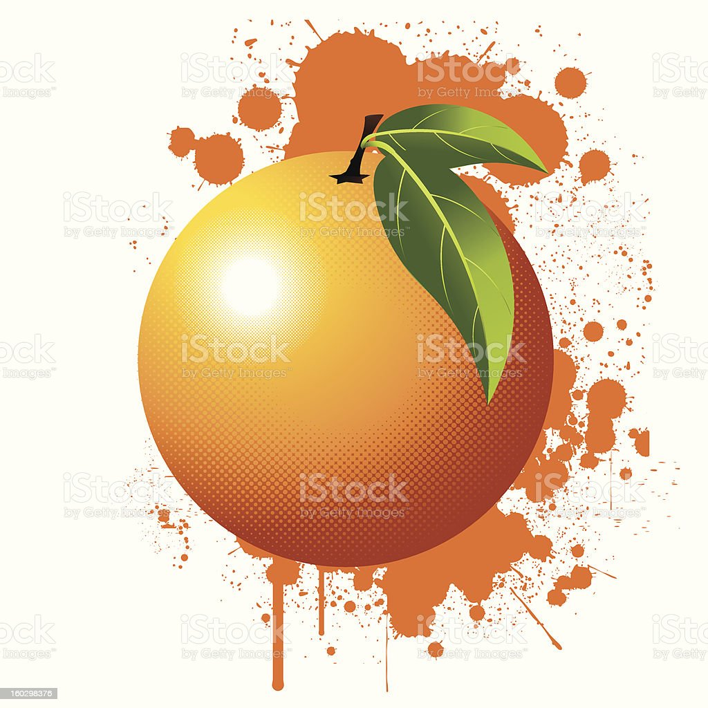 Orange royalty-free orange stock vector art & more images of bright