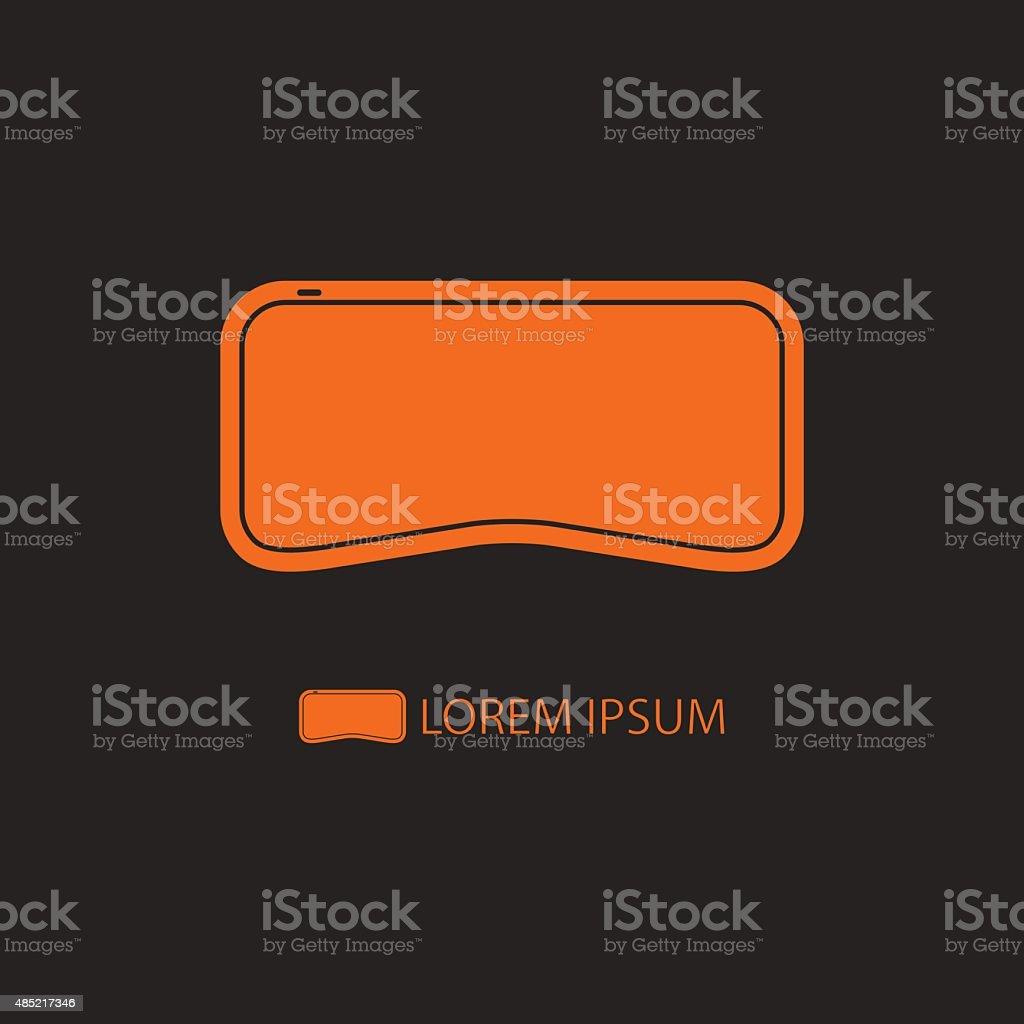 954cbbf5b9 En Virtual Arte Realidad La Negro Vrgafas Logotipo Orange De wPvNnOym80