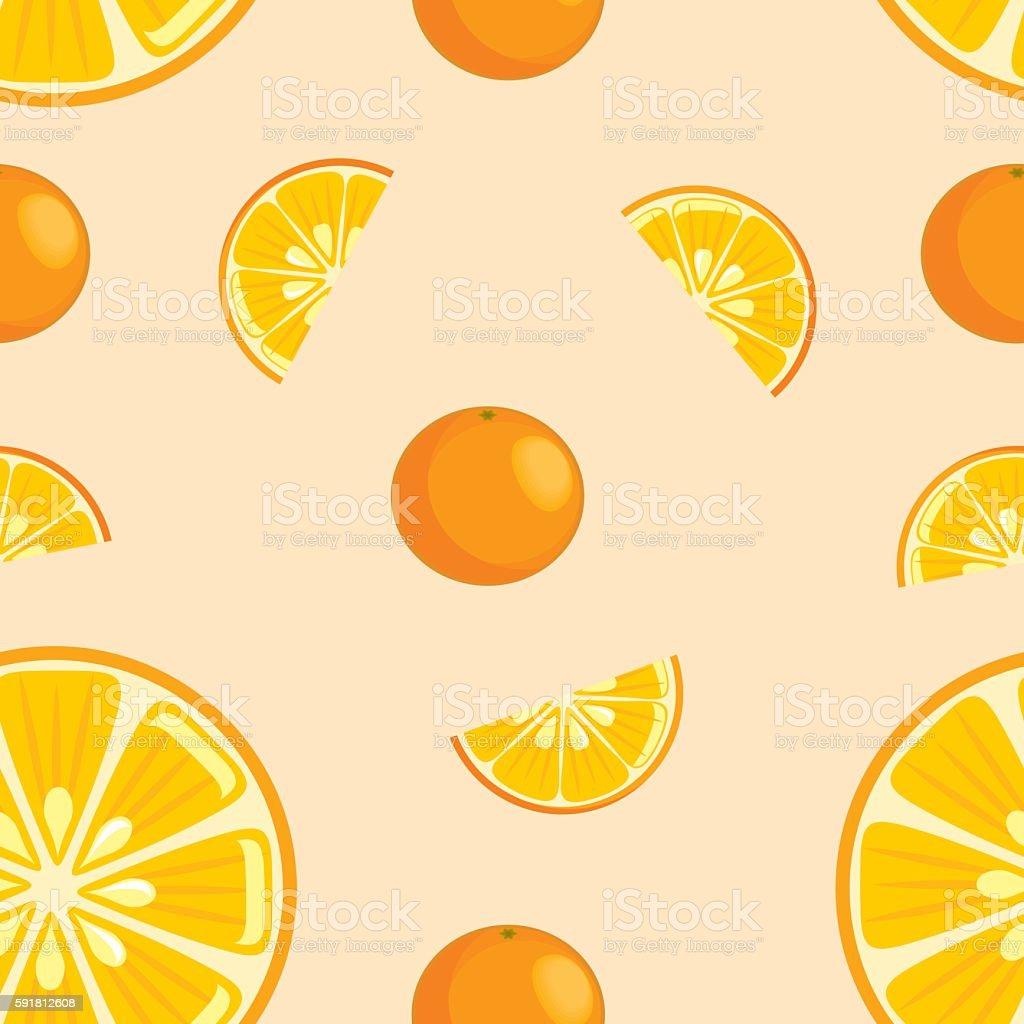 Orange wallpaper vector art illustration