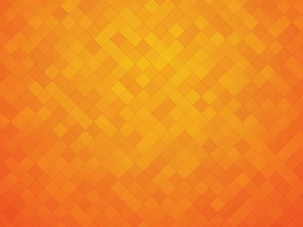 orange yellow tiles - orange color stock illustrations
