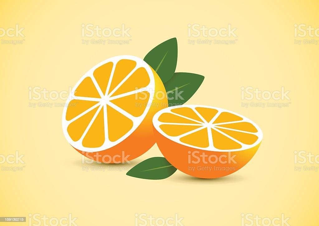 oranges royalty-free oranges stock vector art & more images of chopped