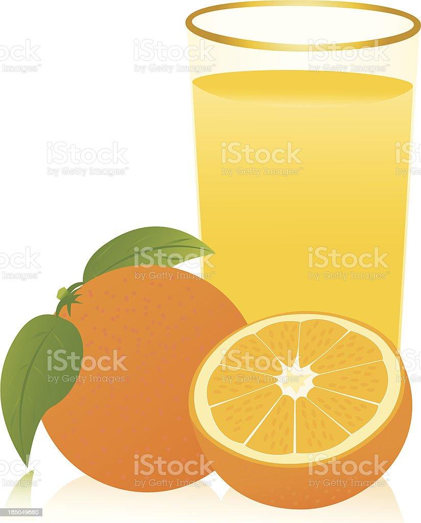 Oranges royalty-free stock vector art