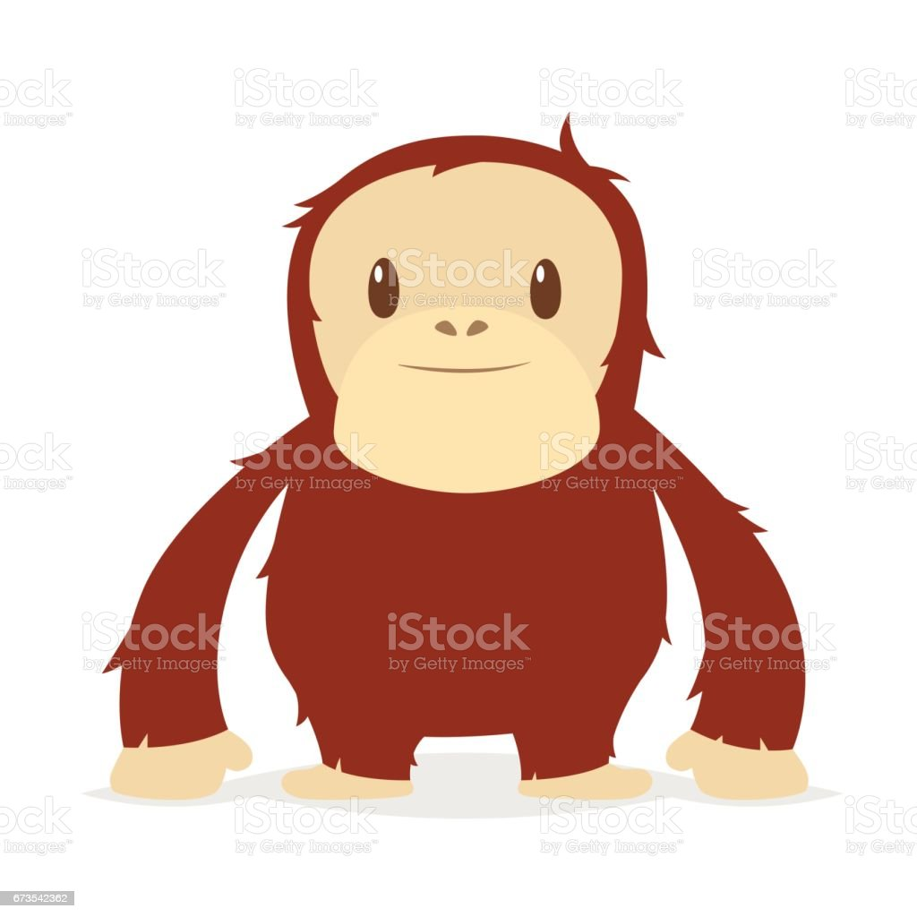 royalty free orangutan clipart clip art vector images rh istockphoto com cute baby orangutan clipart baby orangutan clipart
