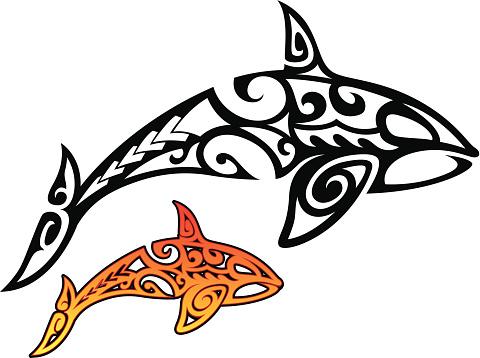 Orca Whale Tribal