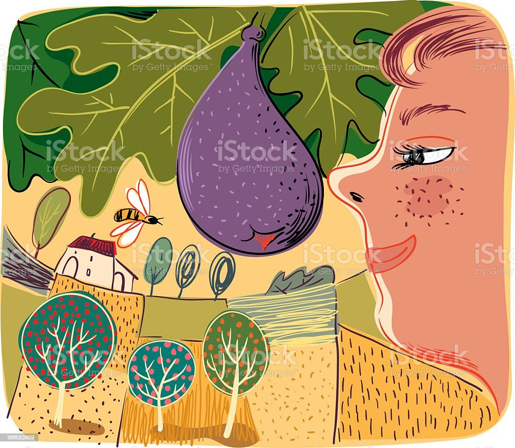 Orchard royalty-free orchard stock vector art & more images of adult