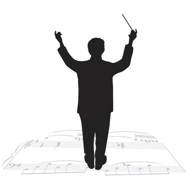Music Conductor Clipart