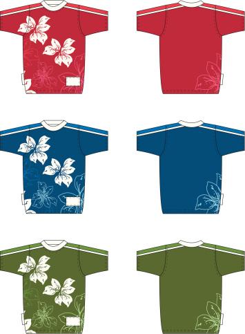 Orchid Print Floral T-Shirt