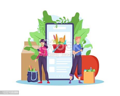Order grocery online