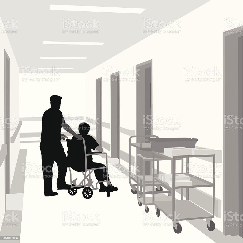 Orderly vector art illustration