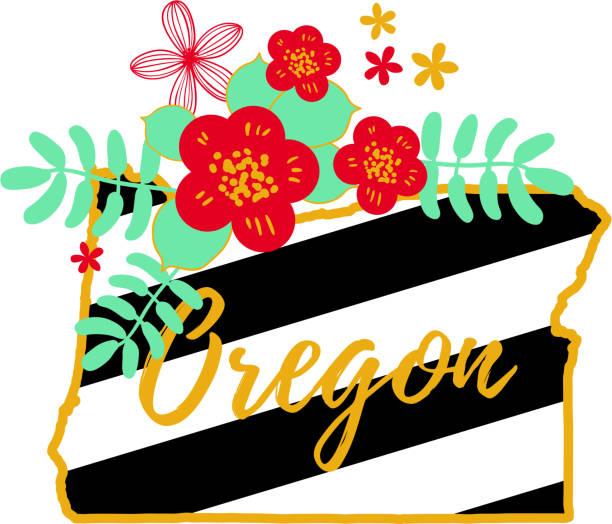 Royalty free portland oregon sign clip art vector images for Oregon craft floral
