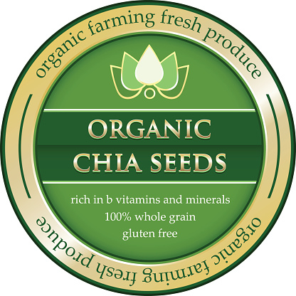 Organic Chia Seeds Gold Label