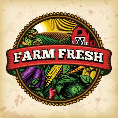 Organic Farm Fresh Label 5