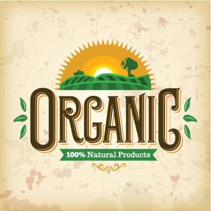 Organic Farm Fresh Label