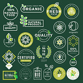 Vector illustrations for restaurant, food market, e-commerce, organic products promotion, healthy life and premium quality food and drink.