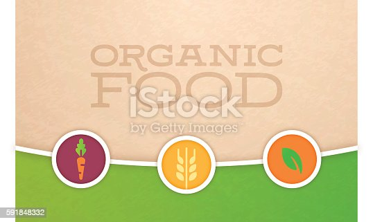 istock Organic Food and Farming Background 591848332