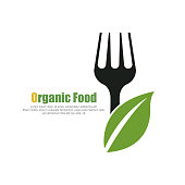 organic food. eps 10 vector file