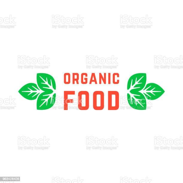Żywność Ekologiczna Z Zielonymi Liśćmi - Stockowe grafiki wektorowe i więcej obrazów Bez ludzi