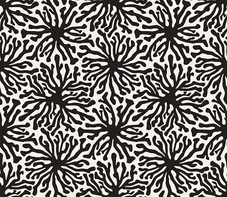 Organic Hand Drawn Seamless Vector Pattern