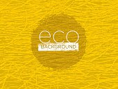Organic Hay Nature Texture Eco Background