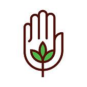 istock Organic icon 1160977846