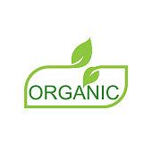 organic icon. eps 10 vector file