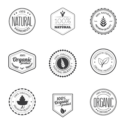 Organic product stamps
