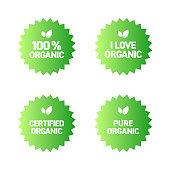 Organic Products Badge Design