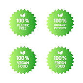 Organic Products Badge Design